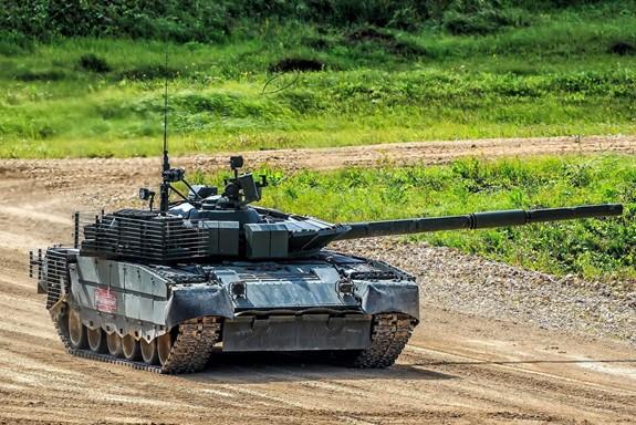 Nga tái trang bị xe tăng T-80 - Ảnh 2.