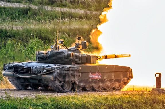 Nga tái trang bị xe tăng T-80 - Ảnh 4.