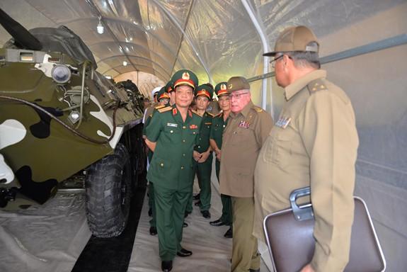 Ứng dụng công nghệ mới của Cuba vào niêm cất, bảo quản xe tăng, thiết giáp: Kết quả tốt - ảnh 2