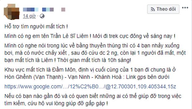 Nhóm bạn trẻ Sài Gòn gặp nạn trên hành trình chinh phục cực Đông khiến 1 người chết, 1 người mất tích - Ảnh 1.