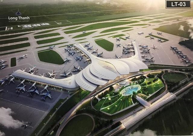 Dự án Sân bay Long Thành được bố trí 11.490 tỉ đồng, chỉ mới tiêu được 300 tỉ đồng - Ảnh 1.