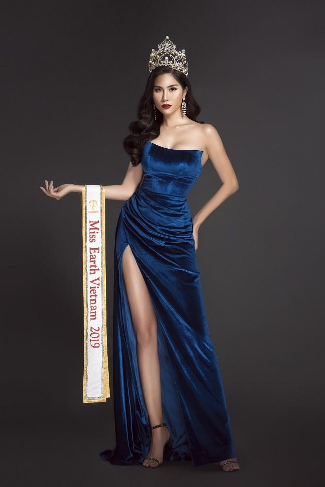 Á hậu Hoàng Hạnh chính thức đại diện Việt Nam thi Hoa hậu Trái Đất 2019 - Ảnh 1.