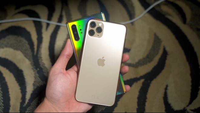 Có lợi thế của người đi sau, nhưng iPhone 11 cũng chẳng hơn được Galaxy Note 10 - Ảnh 1.
