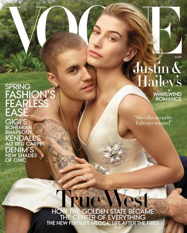 Justin Bieber gây bão khi chia sẻ lại hình ảnh đầu tiên chụp cùng Hailey: Cô nàng fangirl ngày nào giờ đã là vợ anh! - Ảnh 1.