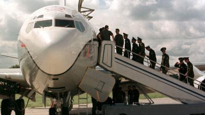 Máy bay do thám Nga thảnh thơi chụp ảnh căn cứ tên lửa hạt nhân tối mật của Mỹ - Ảnh 10.