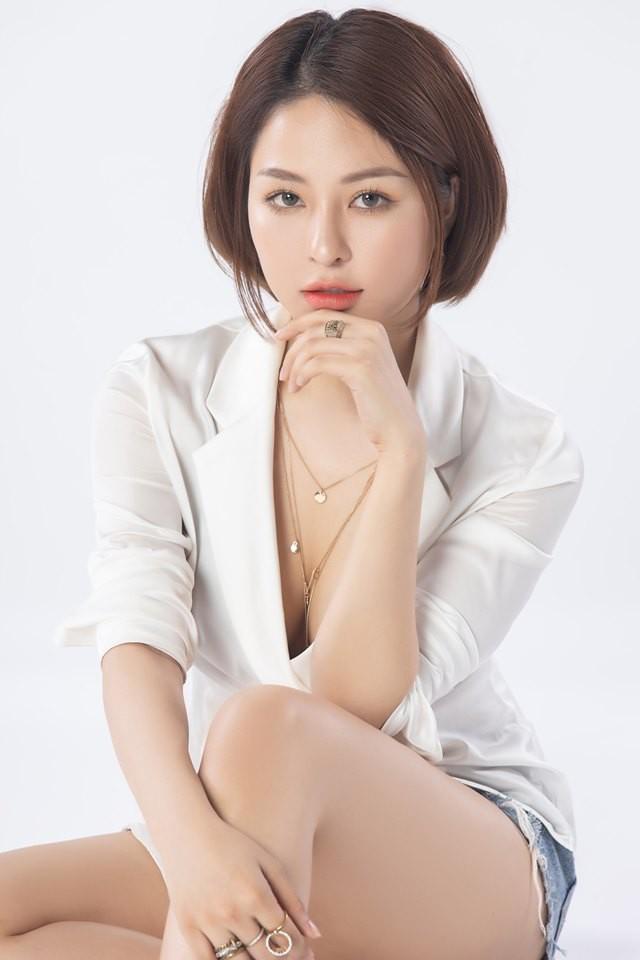 Sau scandal lộ clip nhạy cảm, hot girl Trâm Anh lần đầu tung ra bộ ảnh trưởng thành và gợi cảm - Ảnh 5.