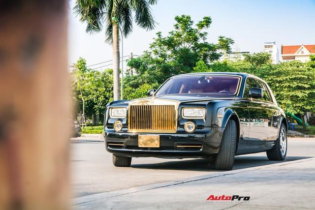 Khám phá Rolls-Royce Phantom độ phiên bản rồng, mạ vàng giá 15 tỷ tại Hà Nội - Ảnh 1.
