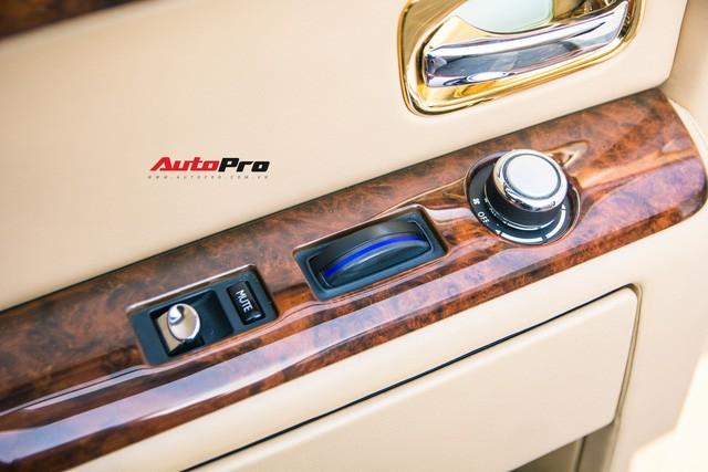 Khám phá Rolls-Royce Phantom độ phiên bản rồng, mạ vàng giá 15 tỷ tại Hà Nội - Ảnh 19.