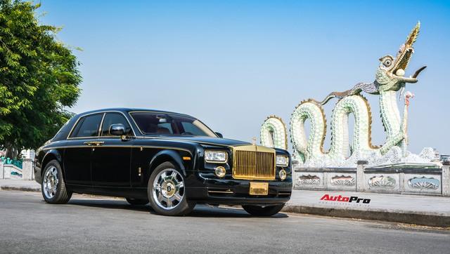 Khám phá Rolls-Royce Phantom độ phiên bản rồng, mạ vàng giá 15 tỷ tại Hà Nội - Ảnh 3.