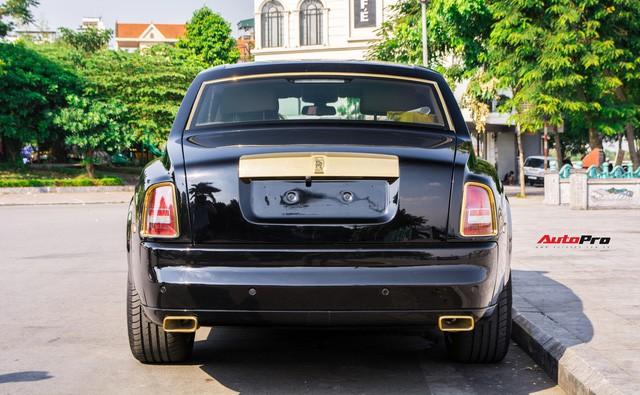 Khám phá Rolls-Royce Phantom độ phiên bản rồng, mạ vàng giá 15 tỷ tại Hà Nội - Ảnh 7.