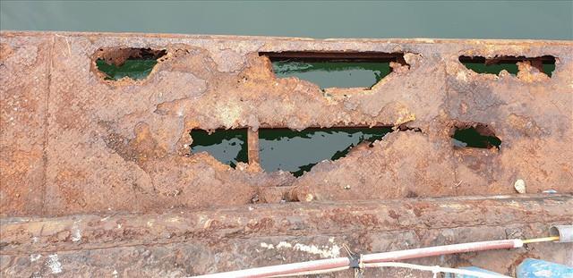 Cảng trăm tỉ Vinashin Hòn Gai nham nhở cột bê tông, thành nơi... câu cá - Ảnh 5.