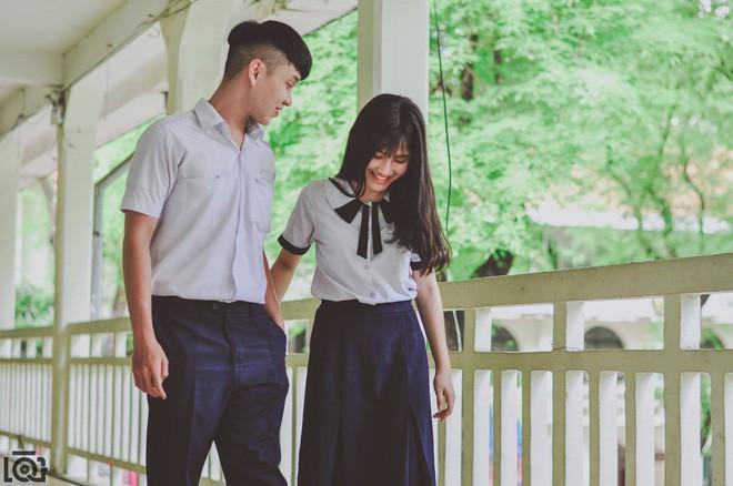 Nhà cách nhau hơn 10km nhưng mỗi sáng vẫn sang chở bạn gái đi học, chuyện tình học trò lãng mạn nhất là đây - Ảnh 8.