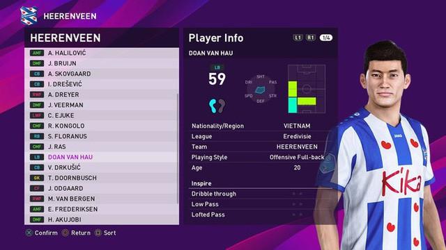 Đoàn Văn Hậu đã xuất hiện trong FIFA 20: Tất cả chỉ số đều ở mức trung bình, riêng chỉ số tiềm năng là vượt trội - Ảnh 4.
