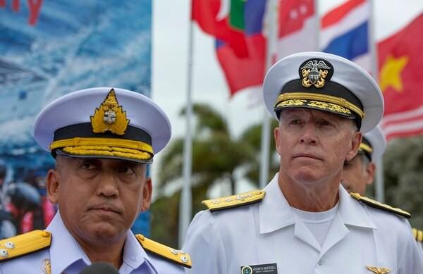 Tập trận hải quân Mỹ - ASEAN: Washington nhấn mạnh đảm bảo Ấn Độ Dương – Thái Bình Dương tự do và rộng mở - Ảnh 1.