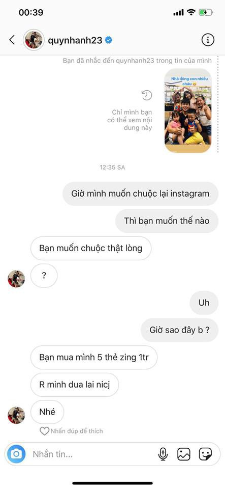 Bạn gái Duy Mạnh mất tài khoản 5 ngày, hacker lấy được món tiền lớn, nhưng thái độ cực gắt của Quỳnh Anh mới đáng chú ý - Ảnh 4.