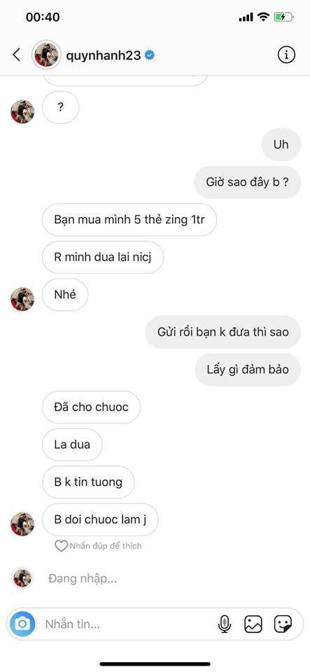 Bạn gái Duy Mạnh mất tài khoản 5 ngày, hacker lấy được món tiền lớn, nhưng thái độ cực gắt của Quỳnh Anh mới đáng chú ý - Ảnh 6.