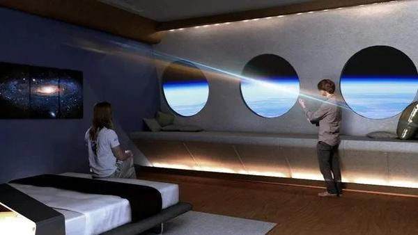 Choáng ngợp bên trong khách sạn vũ trụ dành cho những người siêu giàu - Ảnh 2.