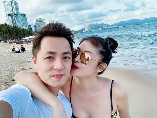 Nhan sắc vợ hot girl đình đám của các sao Việt - Ảnh 3.