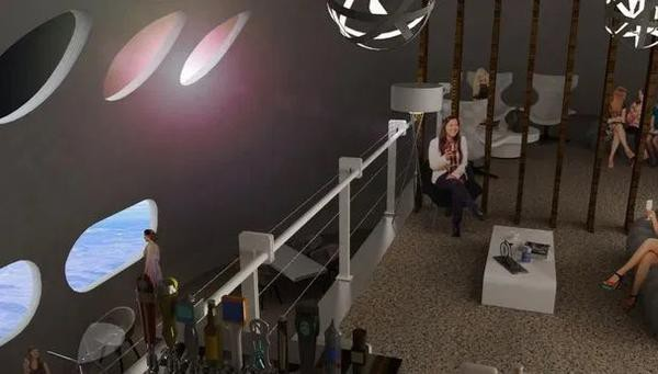 Choáng ngợp bên trong khách sạn vũ trụ dành cho những người siêu giàu - Ảnh 3.