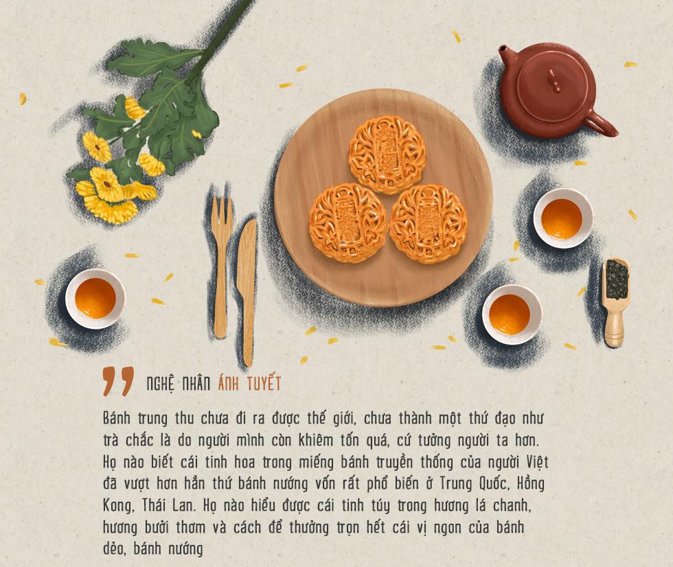Nghệ nhân Ánh Tuyết: Bánh Trung Thu hơn hẳn Trung Quốc, Thái Lan, chỉ có điều người Việt khiêm tốn quá - Ảnh 16.