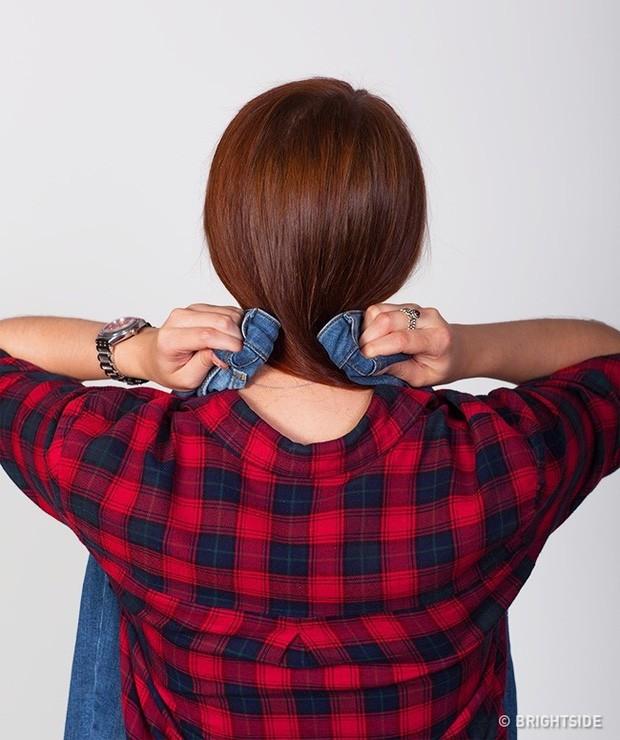 Mẹo để dù không cần mặc thử vẫn chọn được quần jeans vừa in, hoàn hảo đến từng cm - Ảnh 1.