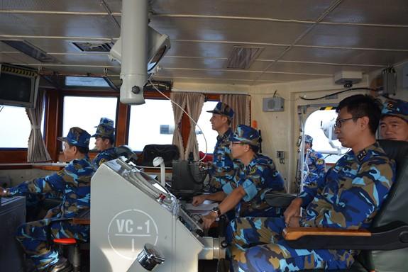 Tàu Hải quân Việt Nam hoàn thành tốt các khoa mục Diễn tập AUMX - Ảnh 2.