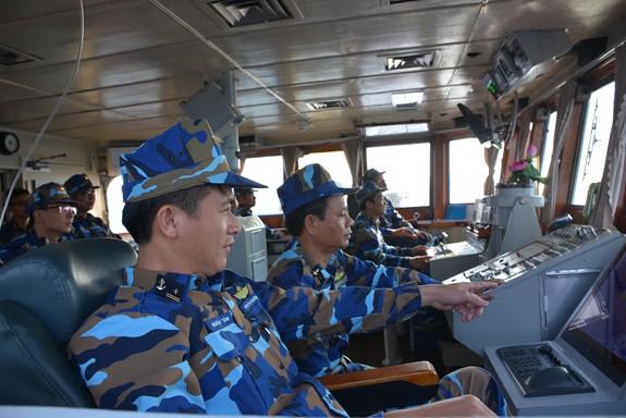 Tàu Hải quân Việt Nam hoàn thành tốt các khoa mục Diễn tập AUMX - Ảnh 3.