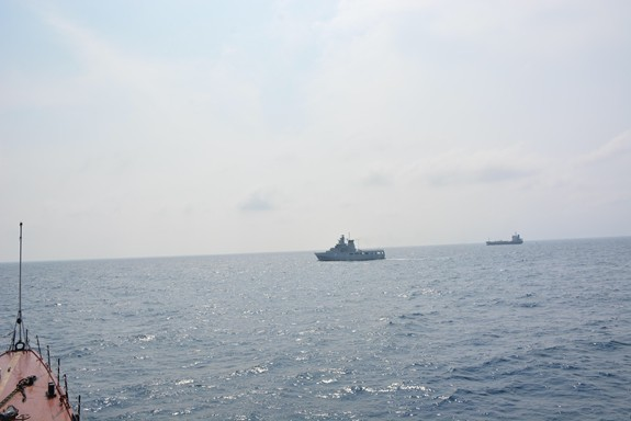 Tàu Hải quân Việt Nam hoàn thành tốt các khoa mục Diễn tập AUMX - Ảnh 7.