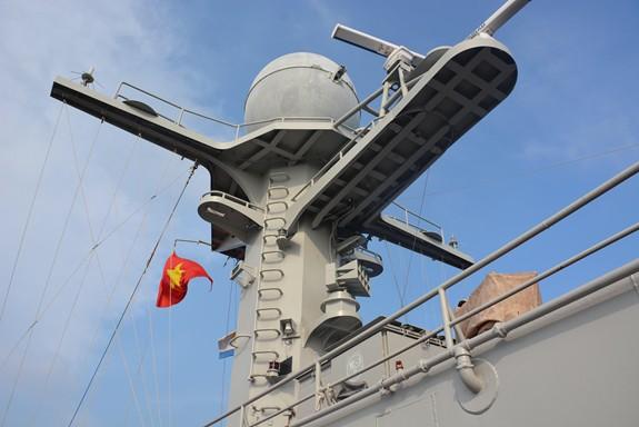 Tàu Hải quân Việt Nam hoàn thành tốt các khoa mục Diễn tập AUMX - Ảnh 9.