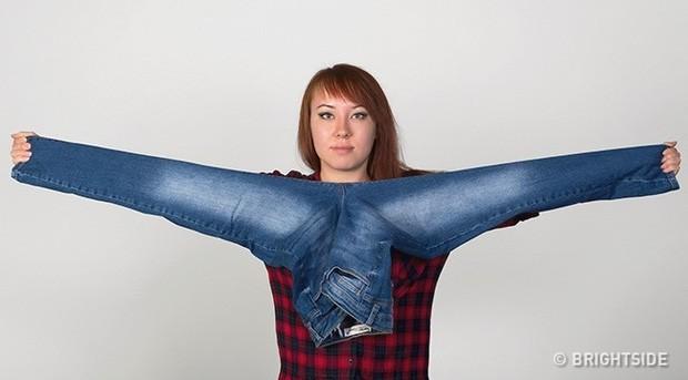 Mẹo để dù không cần mặc thử vẫn chọn được quần jeans vừa in, hoàn hảo đến từng cm - Ảnh 3.