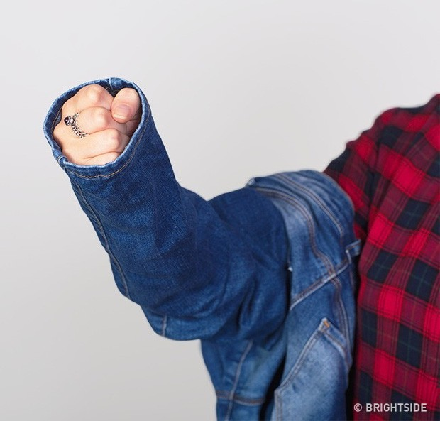 Mẹo để dù không cần mặc thử vẫn chọn được quần jeans vừa in, hoàn hảo đến từng cm - Ảnh 4.