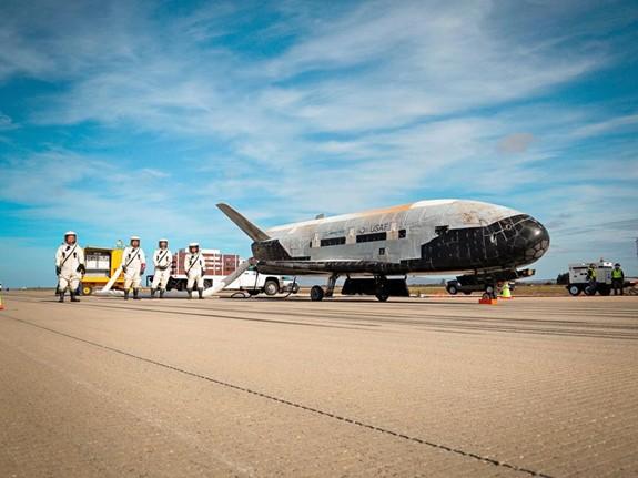 Chương trình vũ khí không gian đầy tham vọng của Mỹ - Ảnh 1.