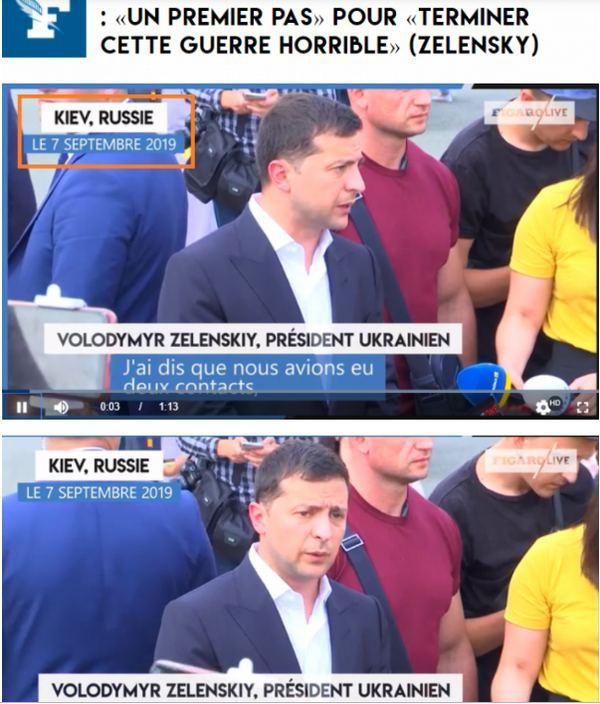 Tờ báo hàng đầu của Pháp mắc sai lầm tai hại, biến Kiev thành của Nga: TT Ukraine bị xúc phạm? - Ảnh 1.