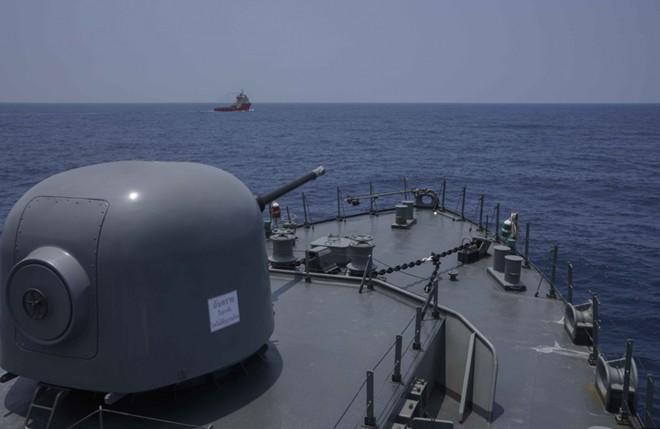 Ấn tượng với cuộc diễn tập hàng hải Mỹ - ASEAN đầu tiên - Ảnh 12.