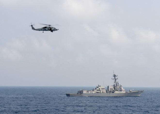 Ấn tượng với cuộc diễn tập hàng hải Mỹ - ASEAN đầu tiên - Ảnh 3.