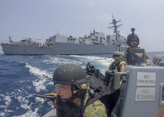 Ấn tượng với cuộc diễn tập hàng hải Mỹ - ASEAN đầu tiên - Ảnh 5.
