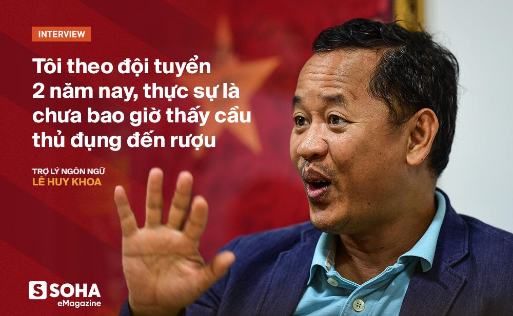 Trợ lý ngôn ngữ Lê Huy Khoa: Ông Park từng phát bực vì sự im lặng của cầu thủ Việt Nam - Ảnh 9.