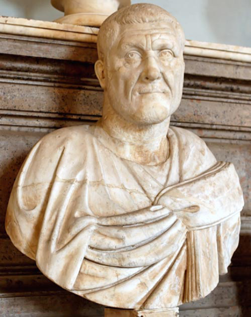 Maximinus Thrax còn được gọi là Maximinus I, là Hoàng đế La Mã từ năm 235 đến 238. (Soerfm / Public Domain )