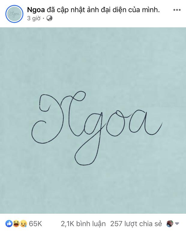 Rộ trend bắt chước Gucci viết chữ nguệch ngoạc lên avatar, có người còn tranh thủ đăng cả STK để đòi nợ trước Tết - ảnh 2