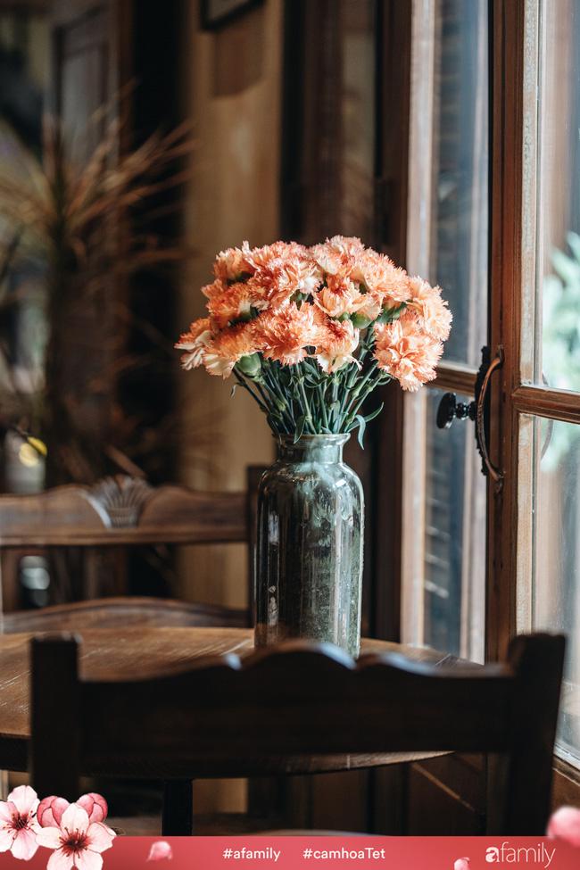 Vừa dễ cắm lại vừa đẹp, hoa cẩm chướng chính là loại hoa không thể thiếu trong ngày Tết - Ảnh 18.