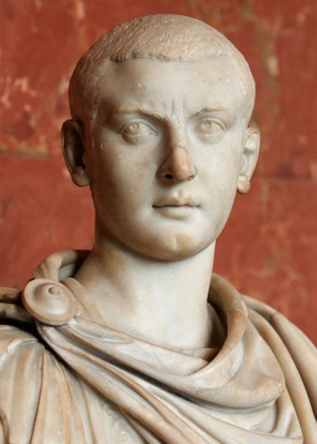 Bức tượng bán thân của Gordian III, hoàng đế của đế chế La Mã. (Ảnh: Internet)