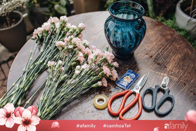 Vừa dễ cắm lại vừa đẹp, hoa cẩm chướng chính là loại hoa không thể thiếu trong ngày Tết - Ảnh 20.