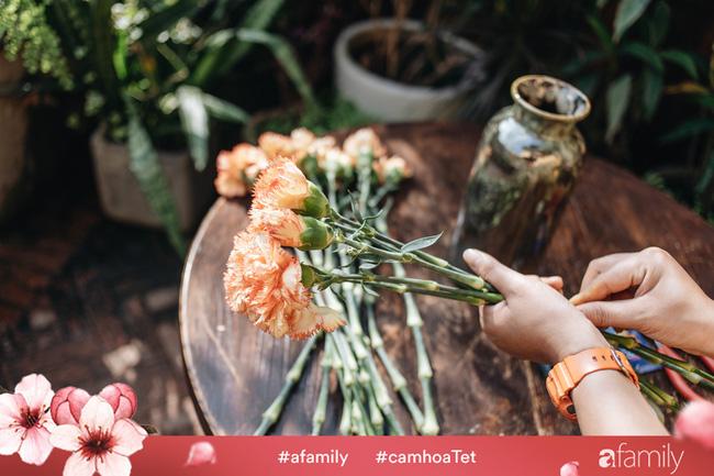 Vừa dễ cắm lại vừa đẹp, hoa cẩm chướng chính là loại hoa không thể thiếu trong ngày Tết - Ảnh 7.