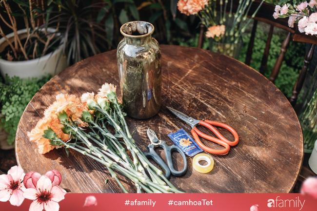 Vừa dễ cắm lại vừa đẹp, hoa cẩm chướng chính là loại hoa không thể thiếu trong ngày Tết - Ảnh 8.