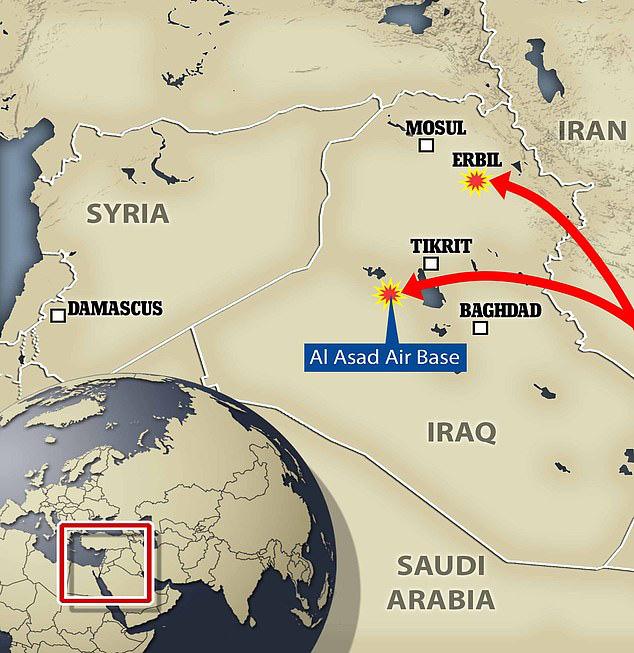 Khám phá sức mạnh hai loại tên lửa Iran nã xuống căn cứ Mỹ - Ảnh 1.