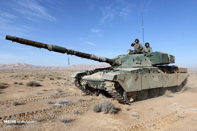 Báo Nga: Iran tập trận bằng xe tăng vỏ Anh, ruột Nga có sức mạnh tương đương T-90A? - Ảnh 5.