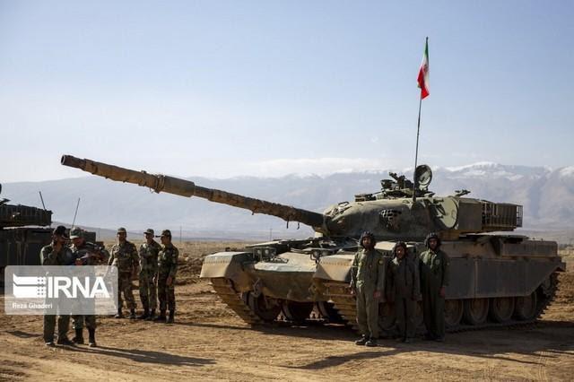 Báo Nga: Iran tập trận bằng xe tăng vỏ Anh, ruột Nga có sức mạnh tương đương T-90A? - Ảnh 8.