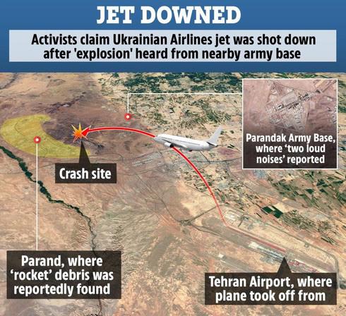 Khám phá khả năng tình báo đáng sợ của Mỹ trong việc Iran bắn hạ máy bay Ukraine - Ảnh 2.
