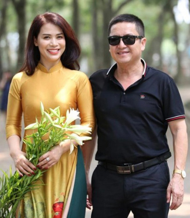 Nhan sắc bạn gái kém 17 tuổi của Chí Trung thời đi thi hoa hậu - Ảnh 1.