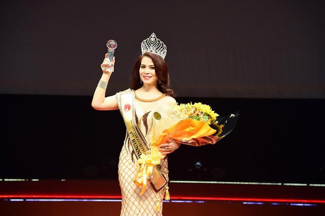 Nhan sắc bạn gái kém 17 tuổi của Chí Trung thời đi thi hoa hậu - Ảnh 8.